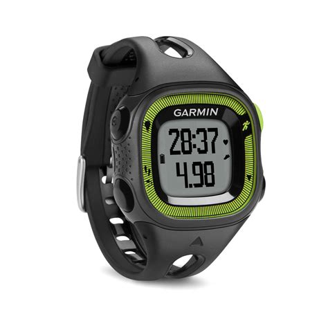 Garmin Forerunner 15 Black Grenn garmin forerunner 15 small black green 010 01241 20 b h