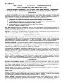 Director Resume Sample Executive Director Resume Getessay Biz