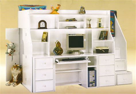 Loft Beds With Desk And Stairs Home Decorating Ideas White Loft Bed With Desk And Stairs