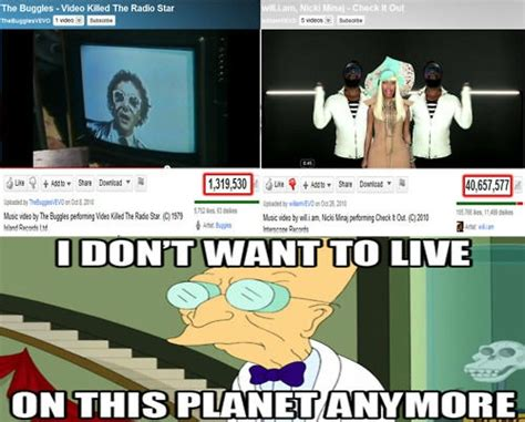 Professor Farnsworth Meme - futurama i don t want to live on this planet anymore memes