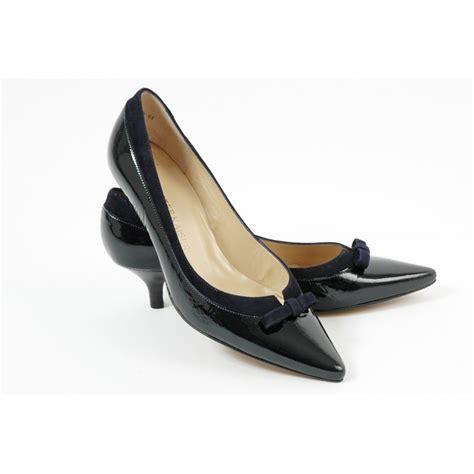 heel shoes kasier dalila kitten heel pointy toe shoes in navy