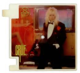 motley crue smokin in the boys room motley crue smokin in the boys room pair of interlocking discs uk shaped picture disc