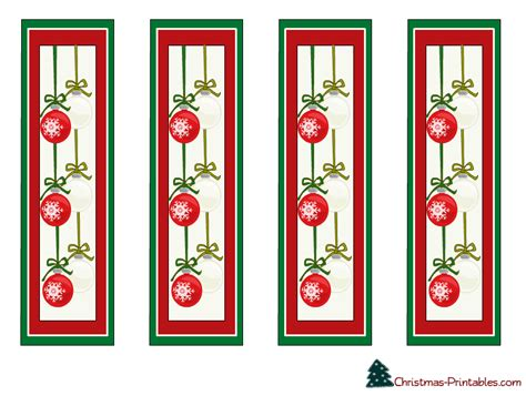 printable xmas bookmarks free bookmarks to print this is a colorful design with