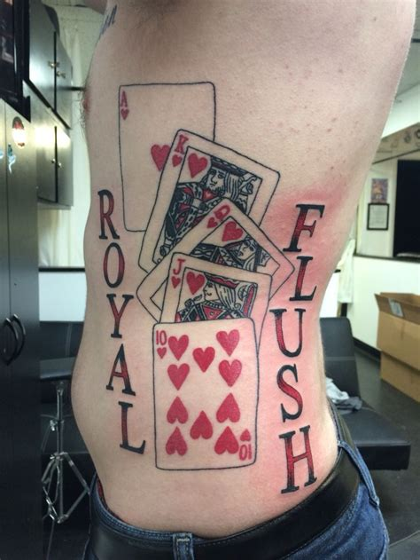 royal flush tattoos 183 best images about tattoos by jud at 7 sins west