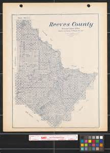 reeves county map reeves county the portal to history