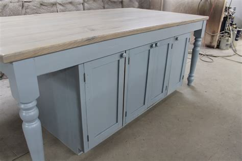 kitchen island custom custom kitchen island from reclaimed oak ecustomfinishes