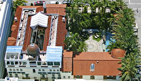 House Plans With Pool Courtyard versace mansion former home of fashion icon headed to