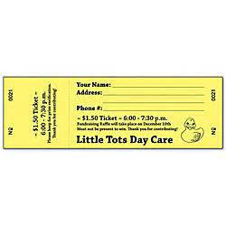 office depot ticket template raffle tickets canary with black ink box of 500 by office