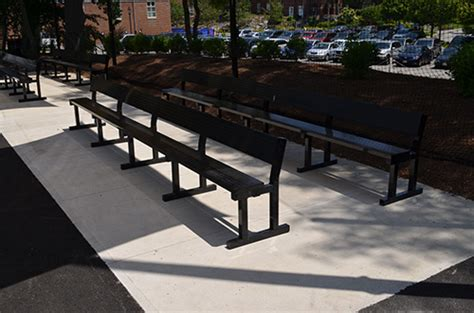 team benches all weather aluminum team benches players benches