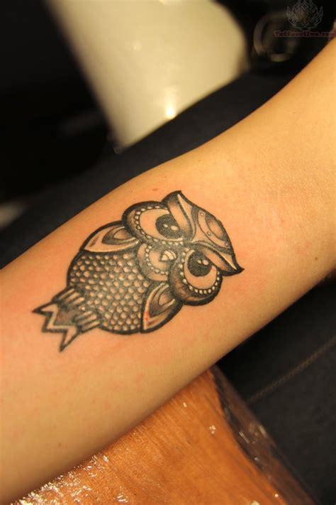 small black tattoo 50 small owl tattoos collection