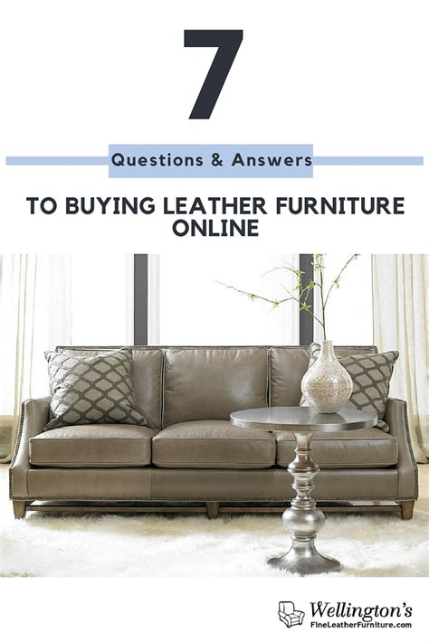 order couches online 7 questions and answers to buying leather furniture online
