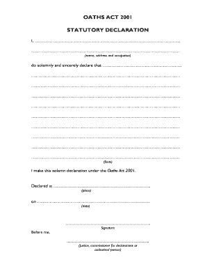 Stat Deck Form what is an affidavit in papua new guinea fill