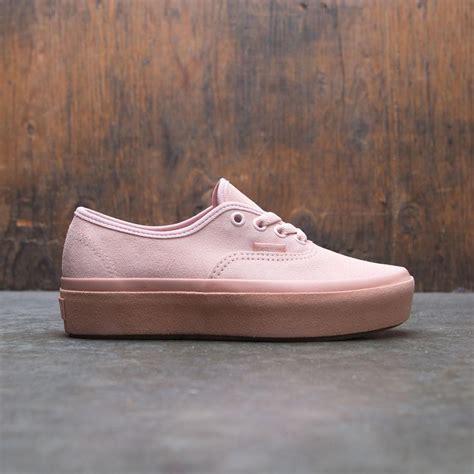 Platform Pink vans authentic platform 2 0 pink