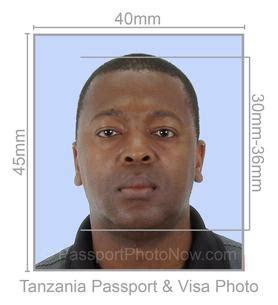 tanzania passport  visa  printed  guaranteed accepted  passport photo