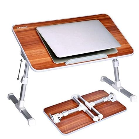 breakfast in bed tray walmart amazon adjustable laptop table and breakfast tray 29 99