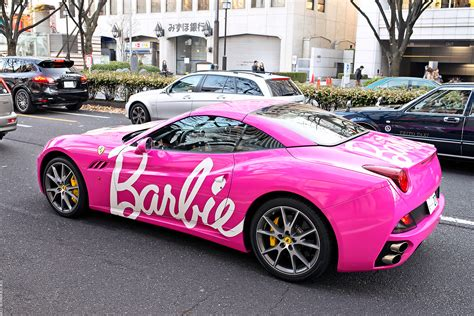 barbie ferrari but wait there s more pink ferrari s to be found the