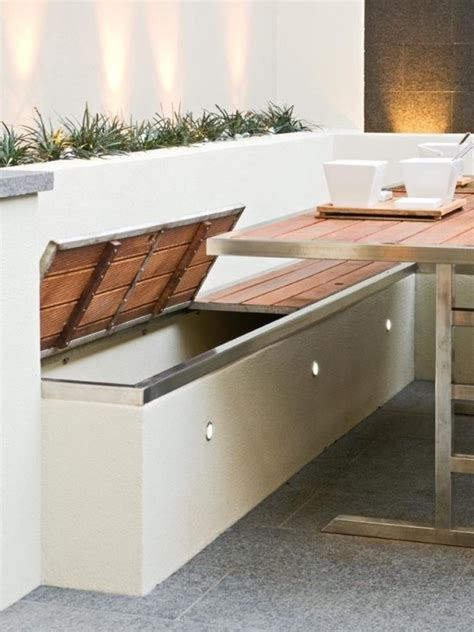 outdoor storage benches for seating 5 inspiring ideas for your outdoor entertaining area