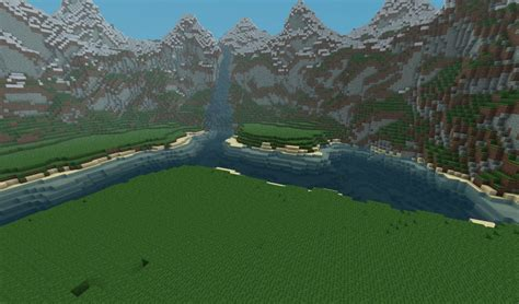 custom landscape with download minecraft project