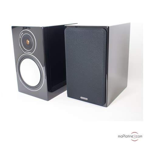 monitor audio silver 2 bookshelf speaker maplatine