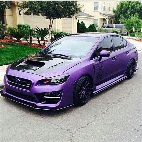 purple subaru impreza pinterest the world s catalog of ideas