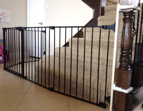 baby gate banister mount custom large and wide child safety gates baby safe homes