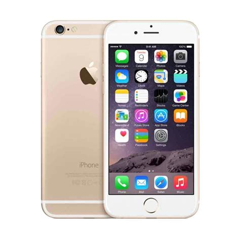 Iphone 6s 32 Gb Smartphone Gold jual apple iphone 6s 32 gb smartphone gold garansi