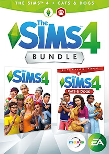 cats and dogs sims 4 the sims 4 pc cats and dogs expansion pack pc digital 163 32 99 or 163 31 34