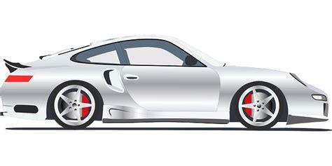 vector graphic porsche automobile car  image