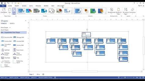 cara membuat struktur organisasi visio cara membuat struktur organisasi di microsoft visio 2013