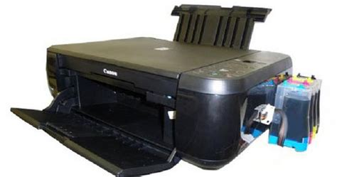 Printer Plus Infus canon pixma mp287 printer tiga fungsi bisa di infus the part of information system