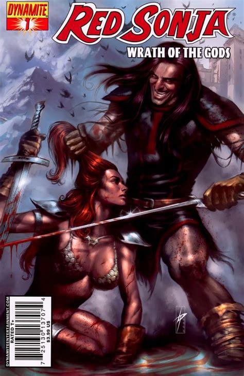 red sonja wikipedia red sonja wrath of the gods volume comic vine