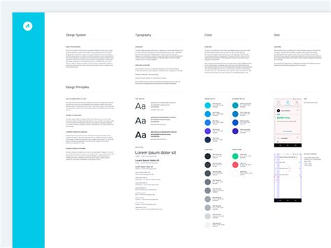 android style guide 40 great exles of ui style guides web graphic design bashooka