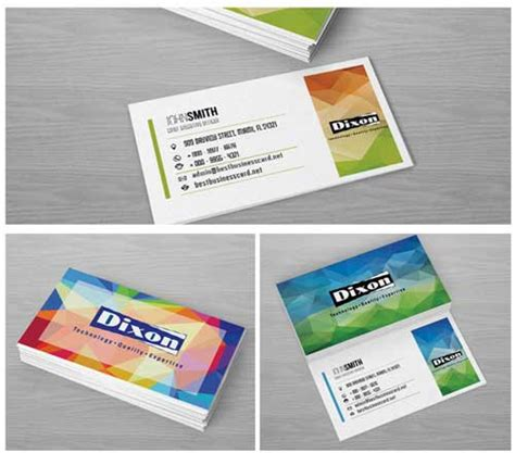4 side free psd business card templates psd business card templates 4 sets of free designs to