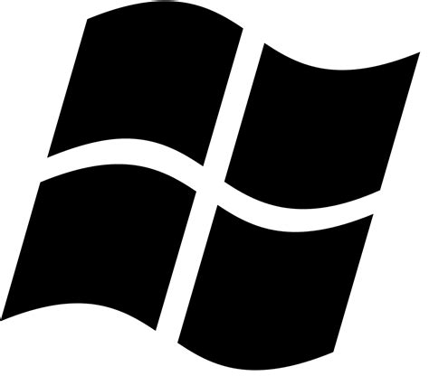 logo black and white file windows logo 2002 2012 black svg wikimedia commons