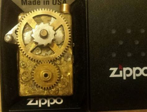 21 Lighters On Dresser by Steam Zippo Lighter Industrial Mechanical Awesome