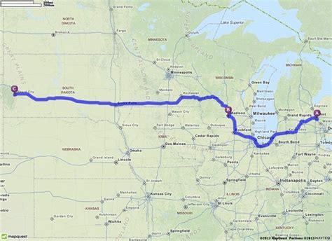 mapquest grand pin by carrie miller on across country trip