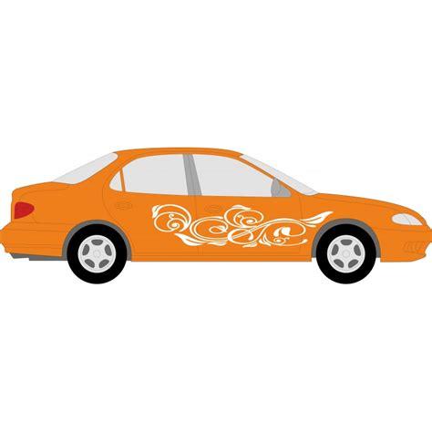 Sticker Für Auto Selber Gestalten by Aufkleber F 252 R Auto Individuelle Hibiskus Autoaufkleber