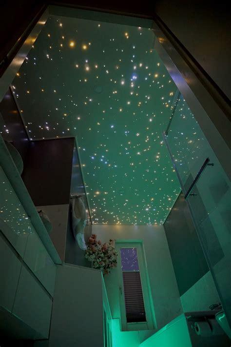 nahtlose badezimmer sternenhimmel mit  funkelnden