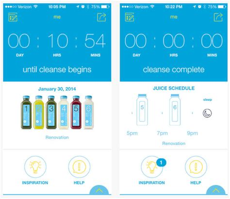 blueprint app blueprint debuts an app for cleanse support and more