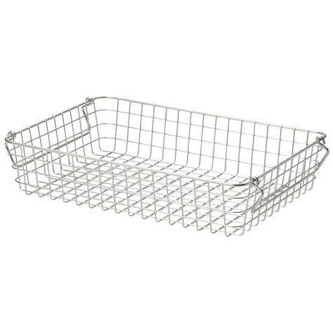 muji baskets 18 8 stainless steel wire basket 2 w37 d26 h8cm muji