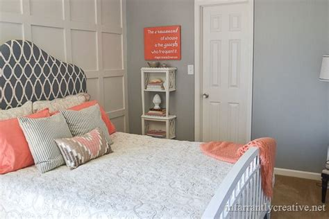 pretty things design coral gray bedroom pin coral gray bedroom with pink chevron pattern curtains
