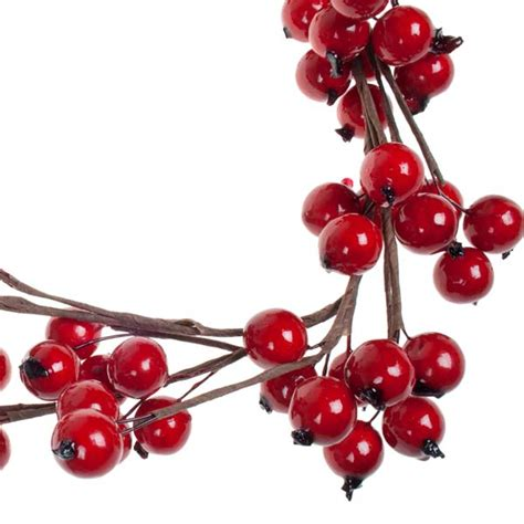 big red berry garland 1 3m party decorations and