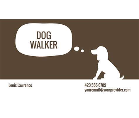 pet grooming business cards templates this walker business card template and other