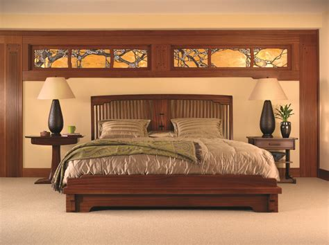 craftsman style bedroom furniture mission collection