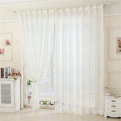 gauzy white curtains aliexpress com buy ready made sheer curtain quot lr baisha