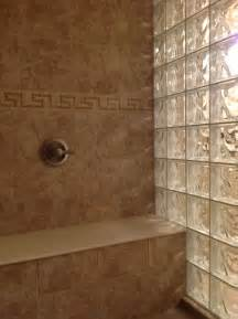 glass block shower wall dublin ohio mediterranean