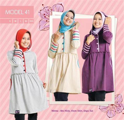 blouse lonceng misbi 4 warna blus dengan hoodie hadir dengan 3 warna cocok untuk