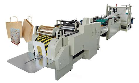 Paper Bag Machines - roll feeding square bottom paper bag machine