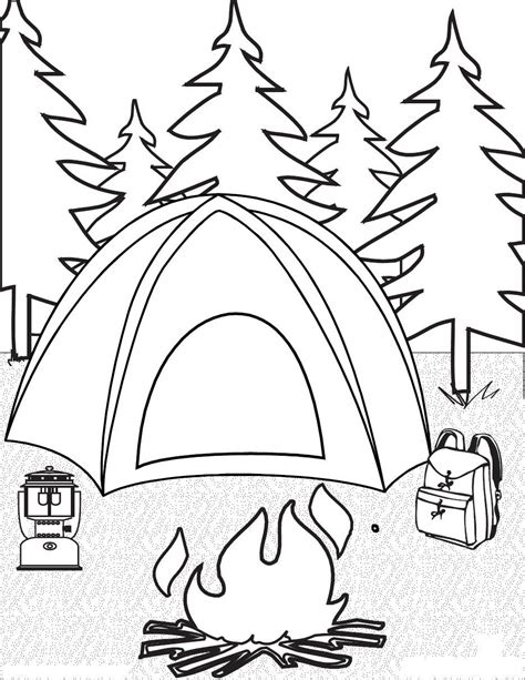 free coloring page site cing coloring pages for childrens printable for free