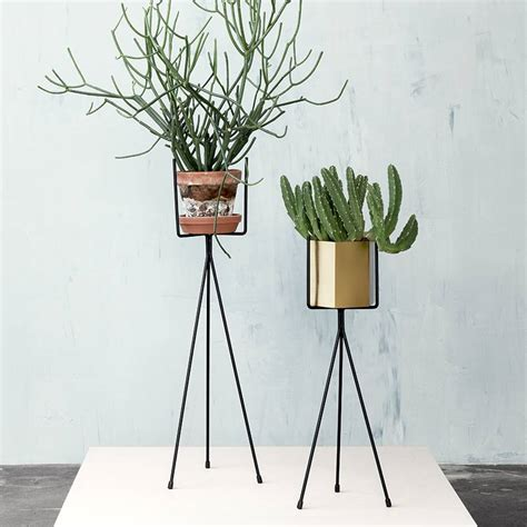 Metal Plant Rack by Ferm Living Vegetable Rack Plant Stand Small Metal